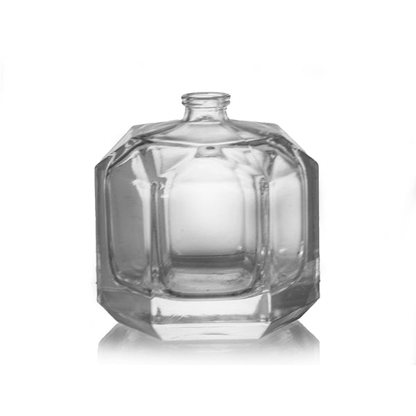 Round Crystal Glass Bottle