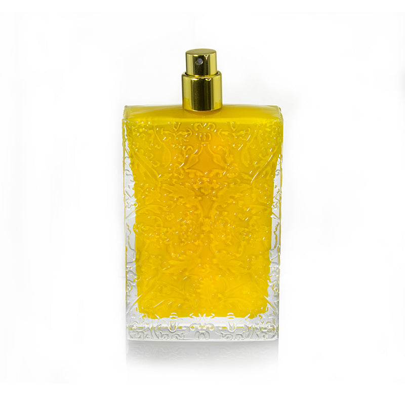 Detailed Glass Perfume Bottle