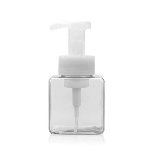 Square Bottle with Foam Pump PET