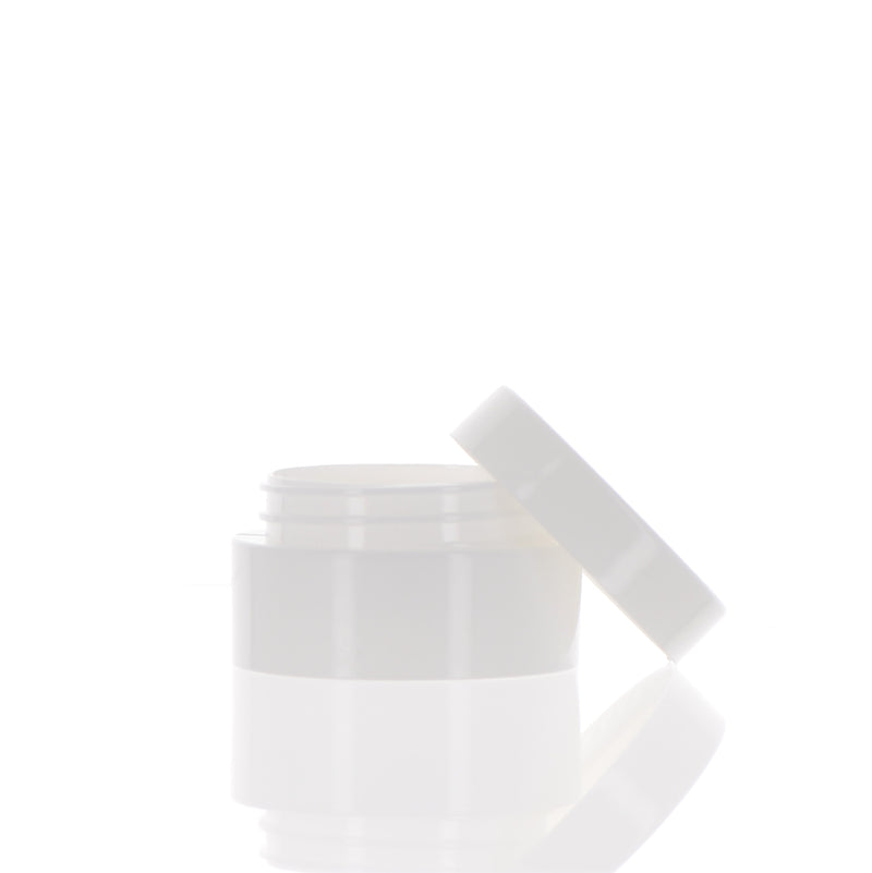PP, White Jar, 10ml