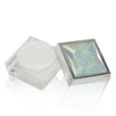 Square Jar with Diamond Galaxy Cap 15ml