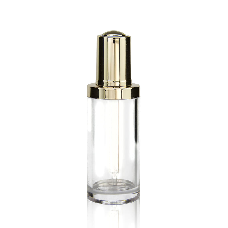 Button Dropper Glass Bottle #