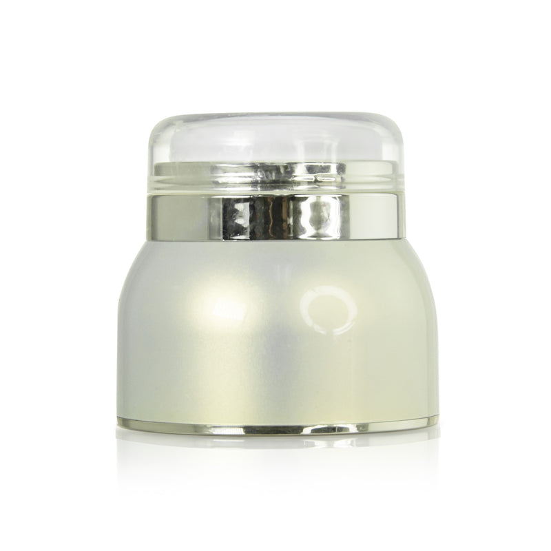 Round airless jar 30ml