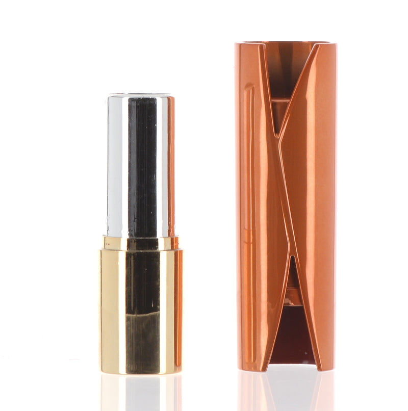 Orange and Gold Lipstick