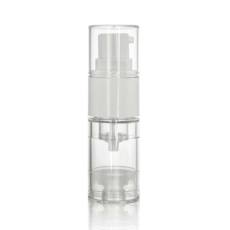 Dual Phase Airless bottle 10ml 2 Different Formula