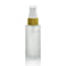 Bamboo Frost Glass Bottle with Fine Mist #