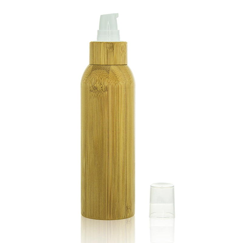 Bamboo Bottle with Treatment Pump