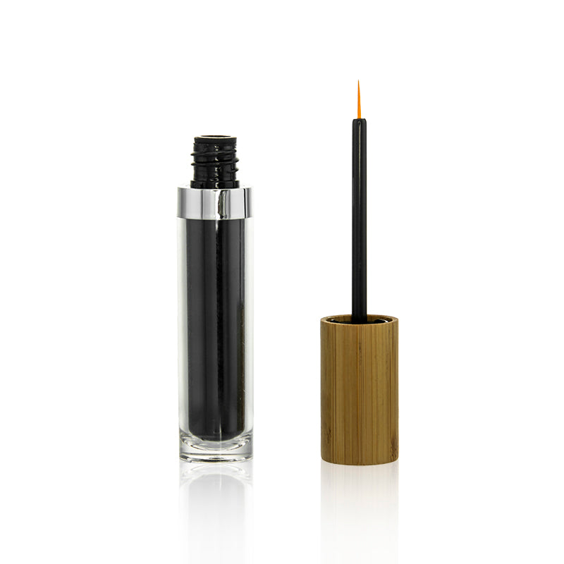 Bamboo Eyeliner Black with Soft Brush