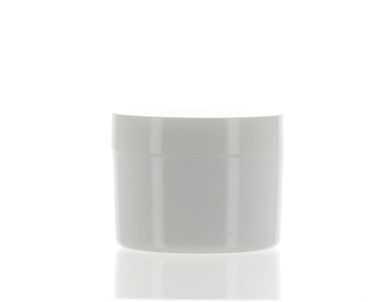 PP, Milky White Jar, 45ml