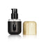 Bamboo Pump Bottle Black Matte Finish with Window