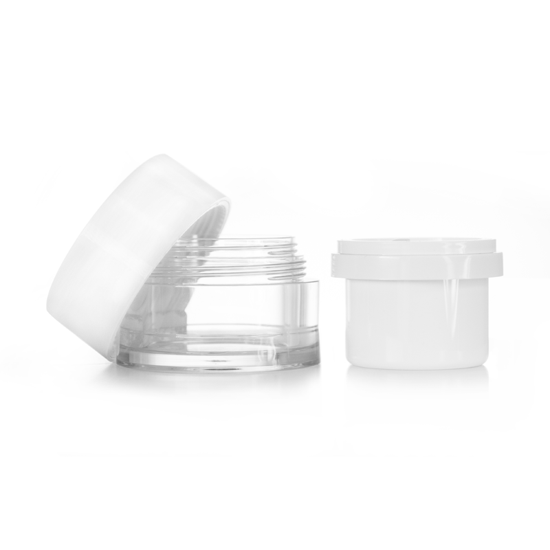 Jar with Replaceable/Refillable Inner Pod