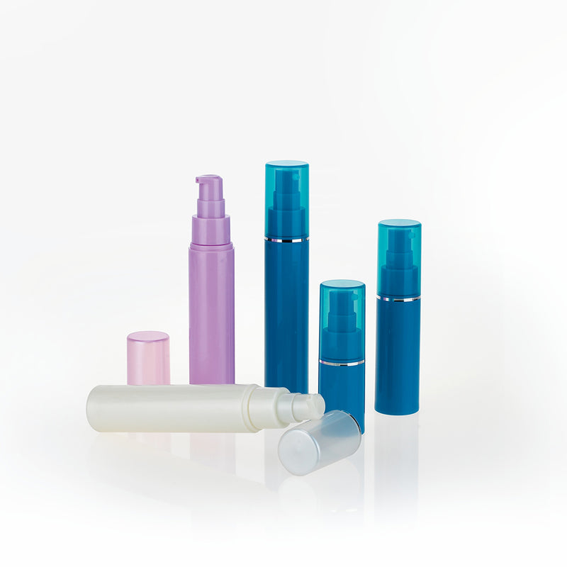 Plastic Lotion Airless Pump Bottles