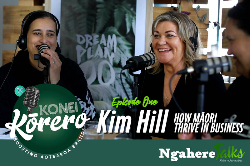 Kim Hill - How Māori Thrive in Business