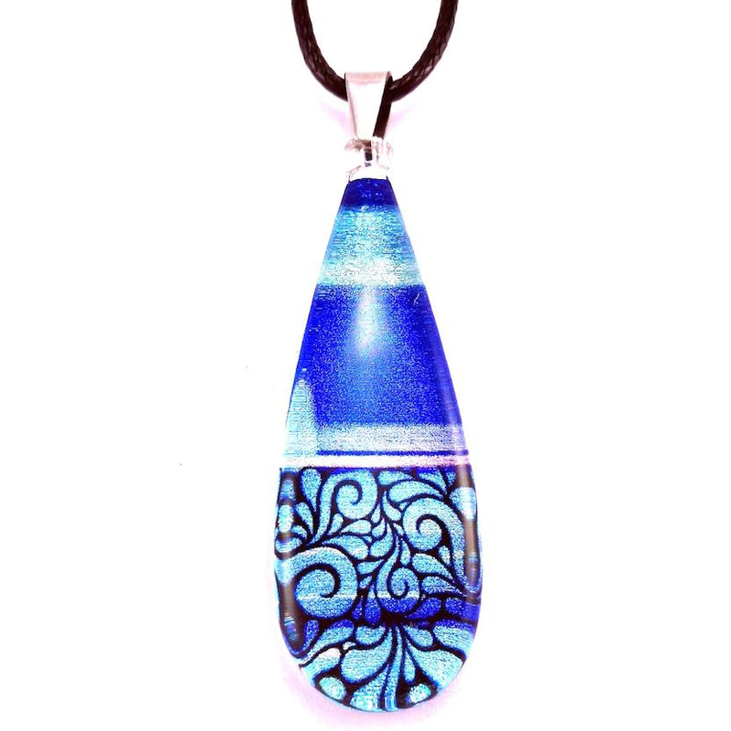 Blue Lace Pendant