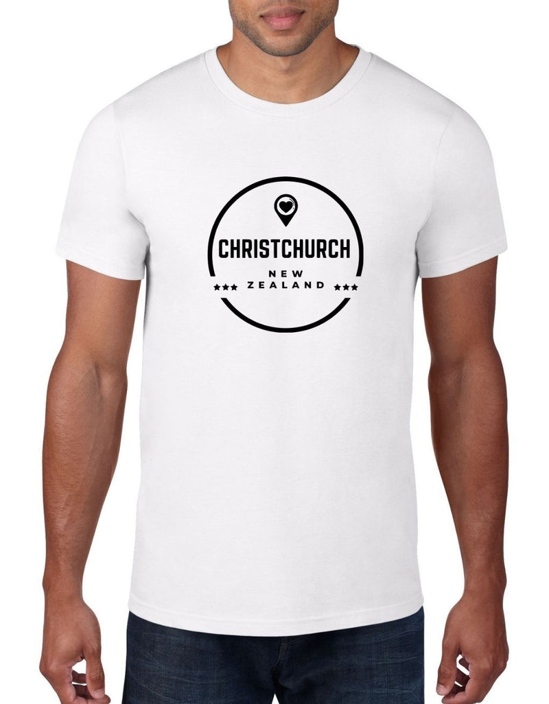 Christchurch NZ - Kiwi T-Shirt For Men