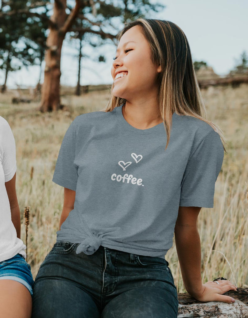 Love Coffee - Coffee Lover Tee - Unisex Fit T-Shirt