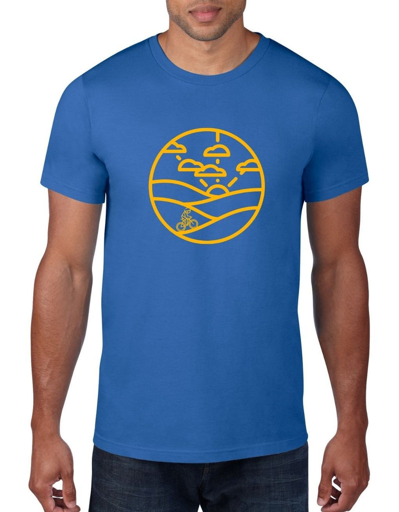 Hills and Cycles - Cycling Bike T-Shirt For Men
