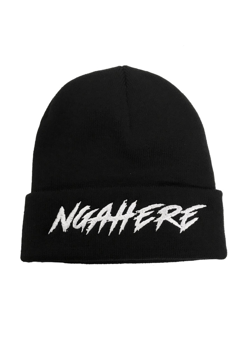 NATIVE - Beanie Black