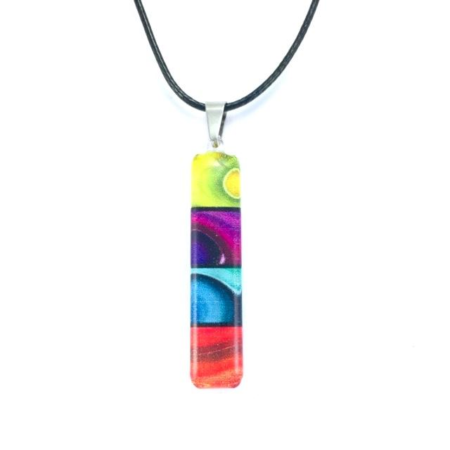 Long Rainbow Pendant