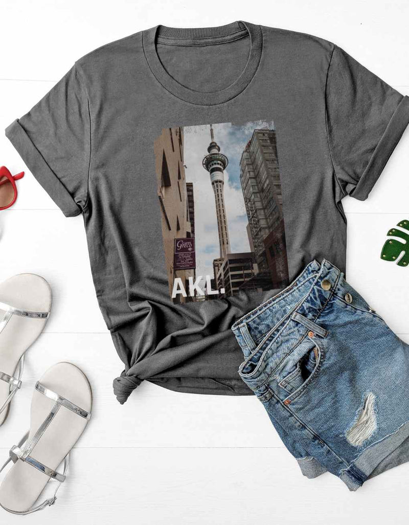 Auckland Sky Tower - Vintage Unisex Fit Tee