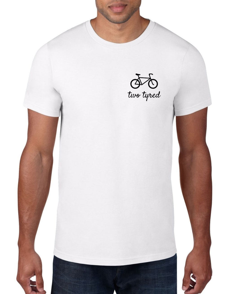 Two Tyred - Cycling Bike T-Shirt For Men