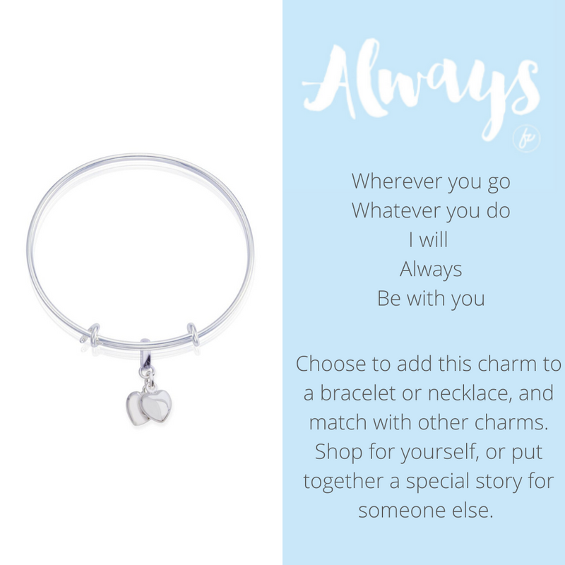 Always Your Heart & Mine Charm