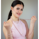 Areeya Pink Pearl Necklace