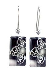 Black/White Balance Earrings