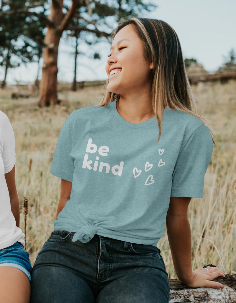 Be Kind - Luxury Positive Unisex Fit T-Shirt