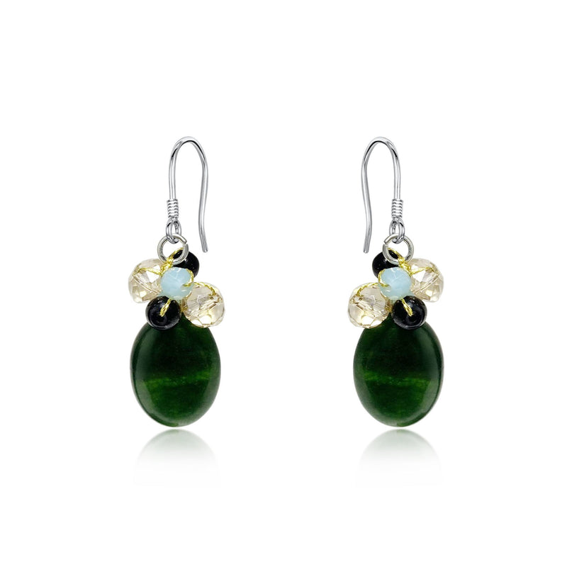 Areeya Green Earrings