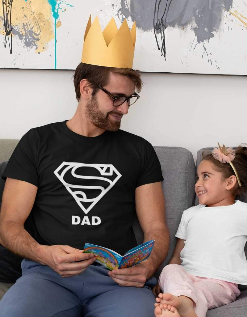 Super Dad - Daddy Luxury Tee