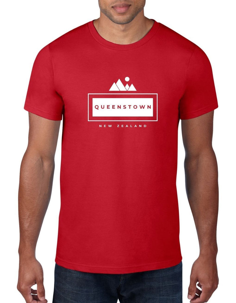 Queenstown NZ - Kiwi T-Shirt For Men