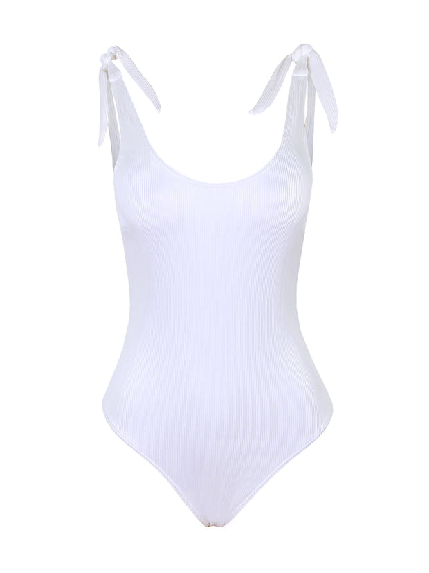 La Romana One Piece - White Rib
