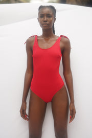 La Romana One Piece - Red Rib