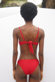 Amal Bottom – Red Rib