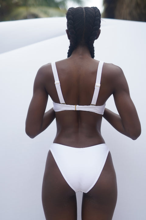 Victoria Bottom - White Rib