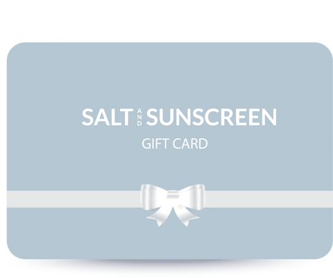 Gift Card - Salt and Sunscreen