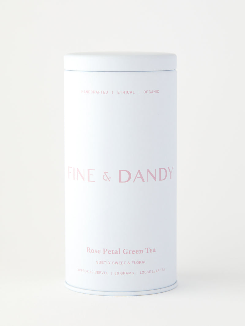 Fine & Dandy Rose Petal Green Tea
