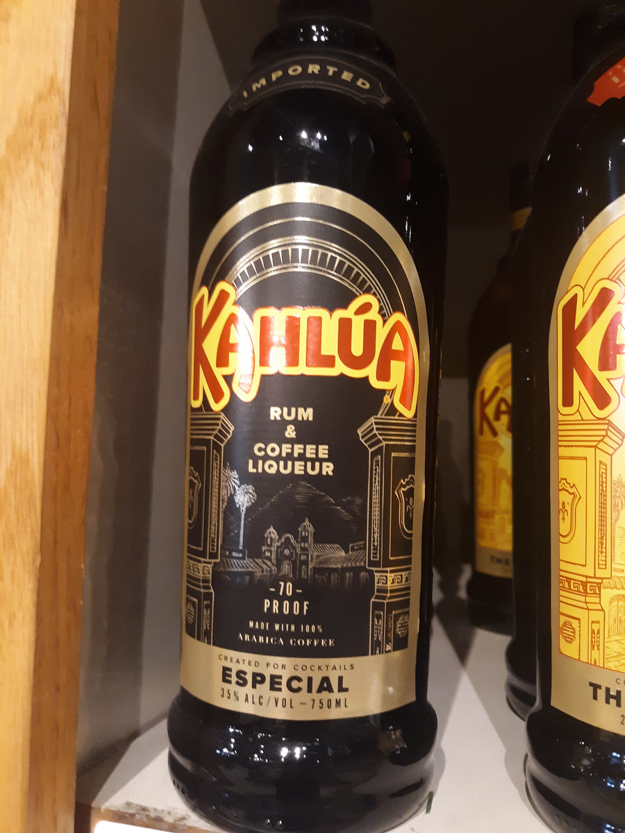 Kahlua Especial Coffee Liquor, 750 ml