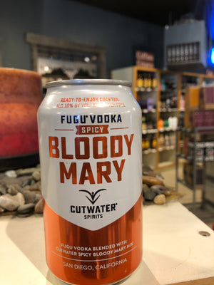 Cutwater, SPICY Bloody Mary, RTD, 12oz can