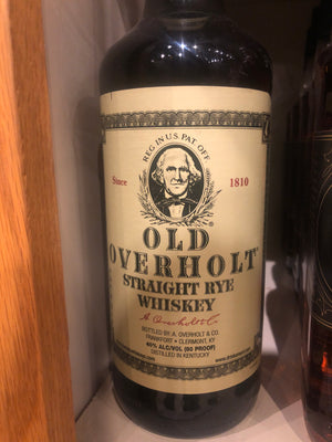 Old Overholt Rye Whiskey, 750 ml