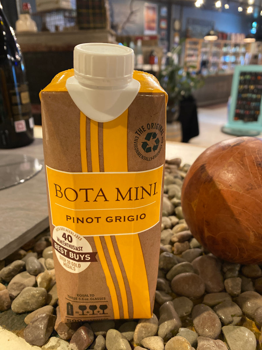 Bota Mini, Pinot Grigio, 500mL box