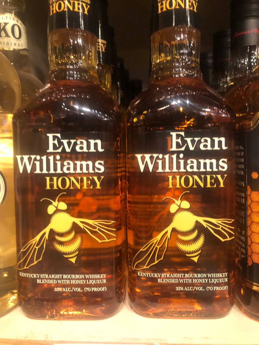 Evan Williams Honey Bourbon, 750 ml