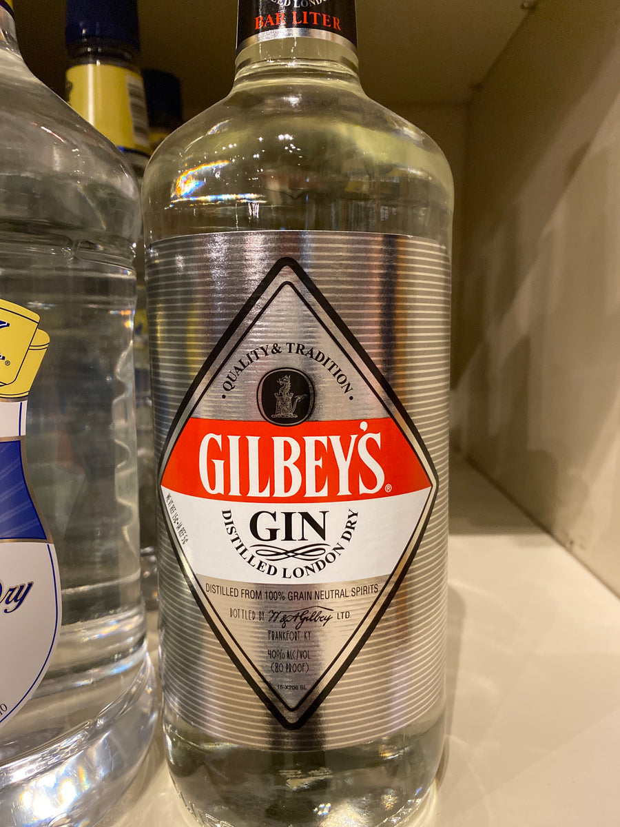 Gilbeys English Dry Gin, 1 liter