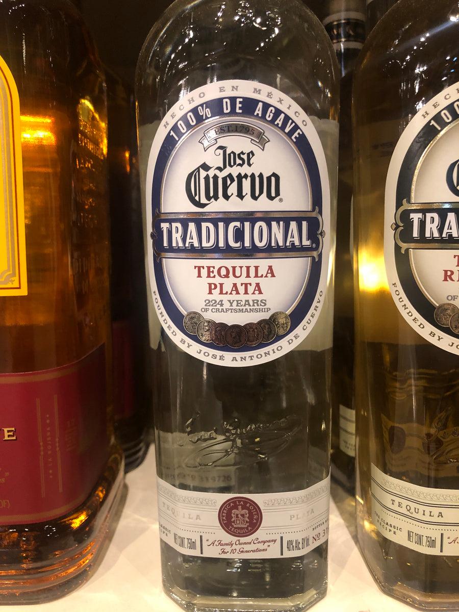 Jose Cuervo Traditional Silver Tequila, 750 ml