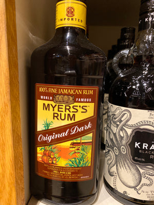 Myers Dark Rum, 750 ml