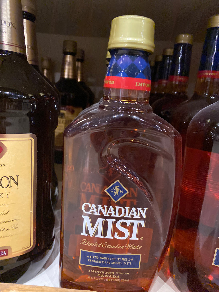 Canadian Mist, Candian Whisky, 750 ml