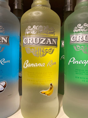 Cruzan Banana Rum, 750 ml