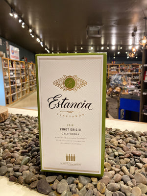 Estancia Vineyards, Pinot Grigio, California, 3 liter box