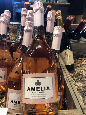 Amelia, Brut Rose, Cramant de Bordeaux, France
